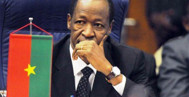Burkina Faso: Blaise Compaoré sort de sa réserve