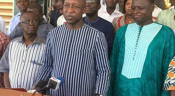 Situation sécuritaire: Paul Kaba Thièba poursuit sa rencontre avec les Forces vives de la nation