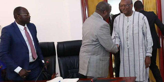 L'adoption de la nouvelle Constitution et le vote des burkinabè de l'étranger au cœur de la rencontre entre le Président du Faso et l'opposition