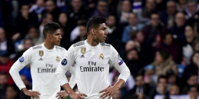 Ligue des champions d'Europe : Le Real Madrid descend de son piédestal la tête basse