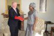 Burkina – Royaume Uni : Jacqueline Zaba remet les copies figurées de ses lettres de créance
